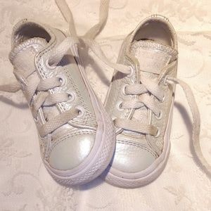 Converse all Star mother of pearl color